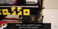 Bricasso drukuje mozaiki z klocków Lego