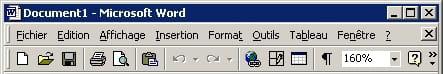 Thème Windows standard sans dégradé