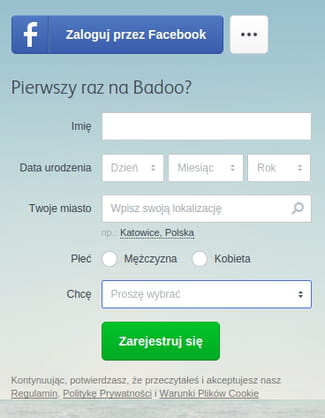 Badoo polska zaloguj