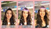 Filtry w transmisjach live na Instagramie