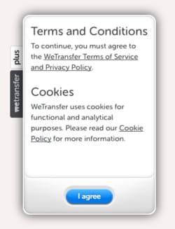wetransfer whatsapp