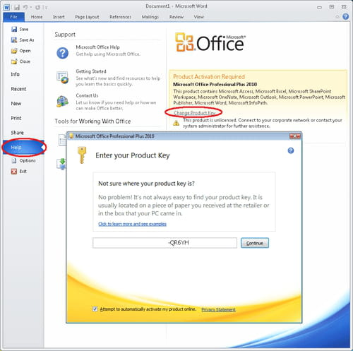 Language pack for office 2010