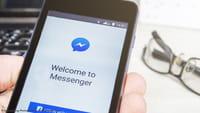 Удаление сообщений в Facebook Messenger
