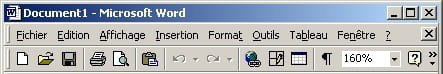 Thème Windows standard