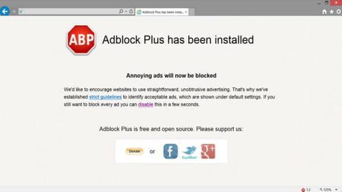 Блокиратор рекламы для интернет эксплорер заказ создание сайта продвижение